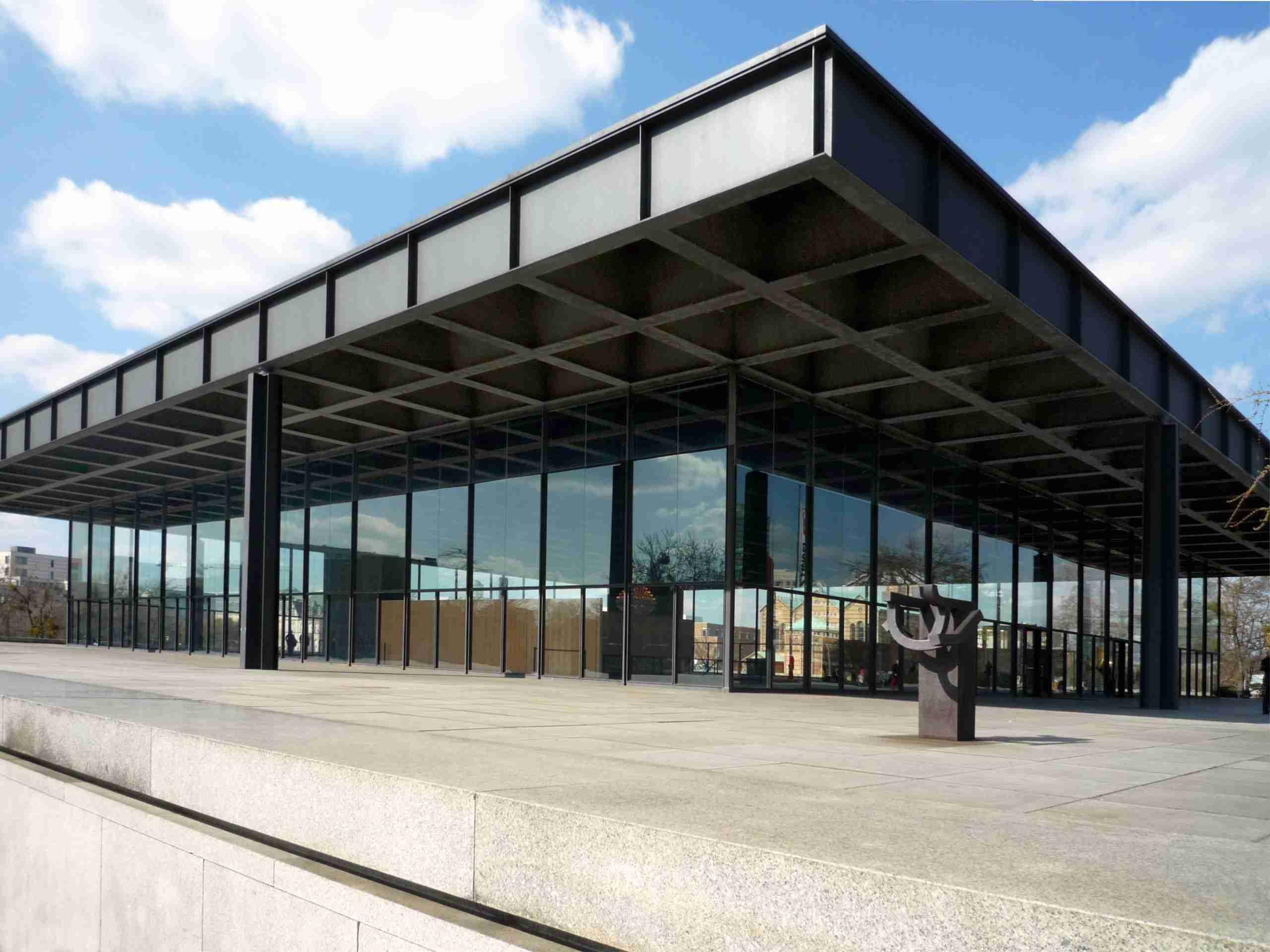 New National Gallery in Berlin