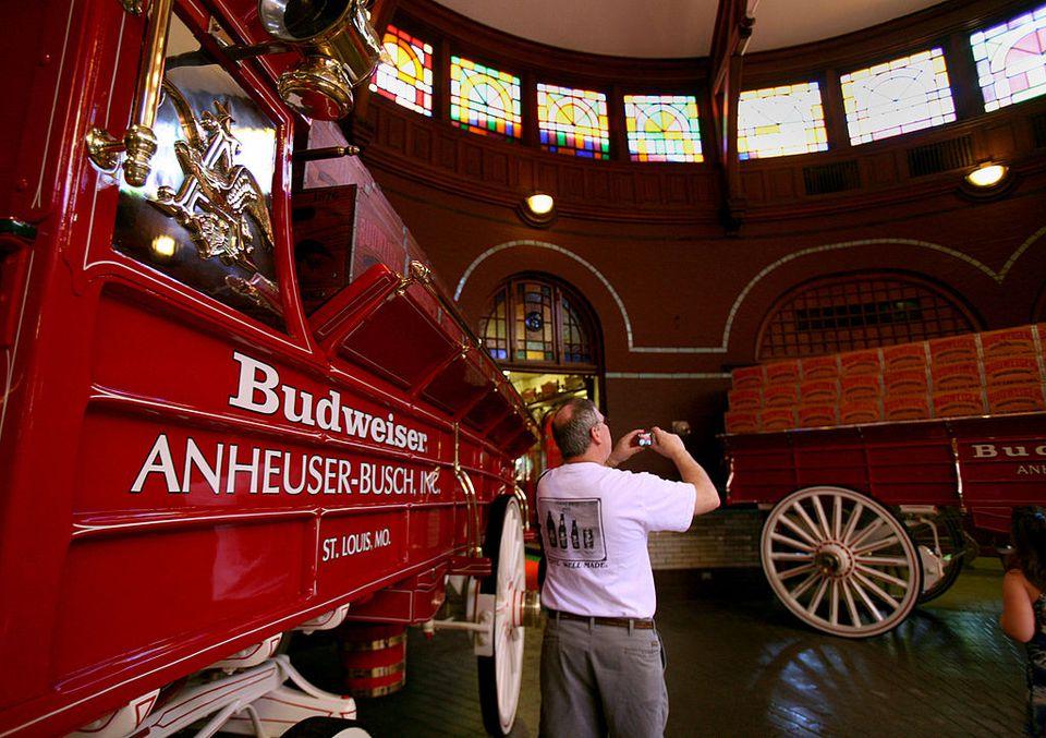 Anheuser Busch Brewery in St. Louis