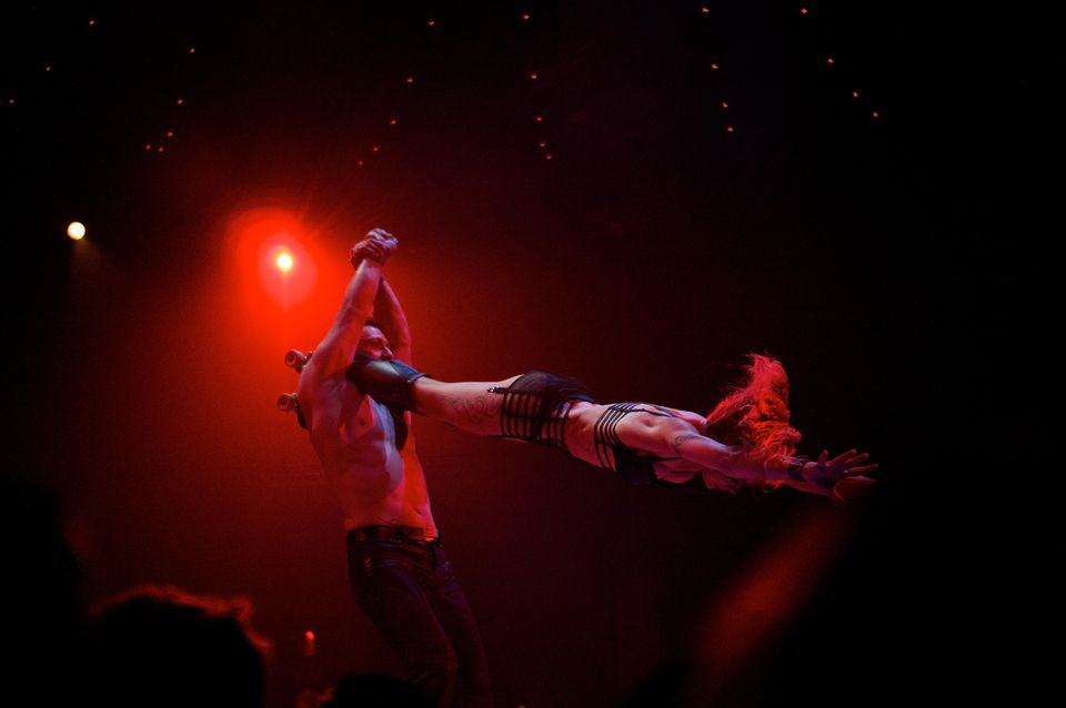 Absinthe Brilliant show.