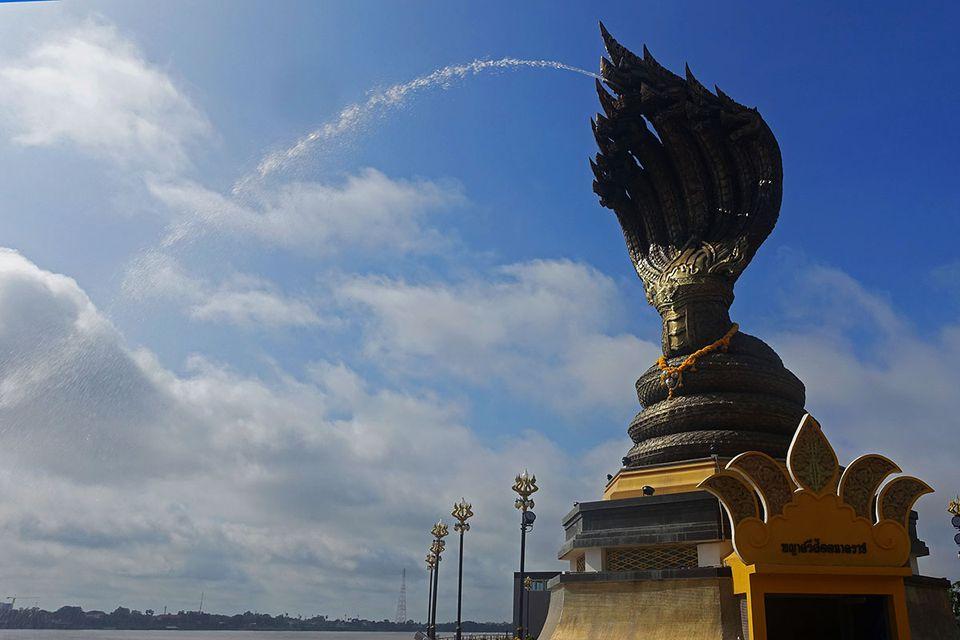 Naga statue, Nakhon Phanom, Thailand