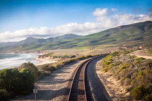 Railroad, Central California Coast