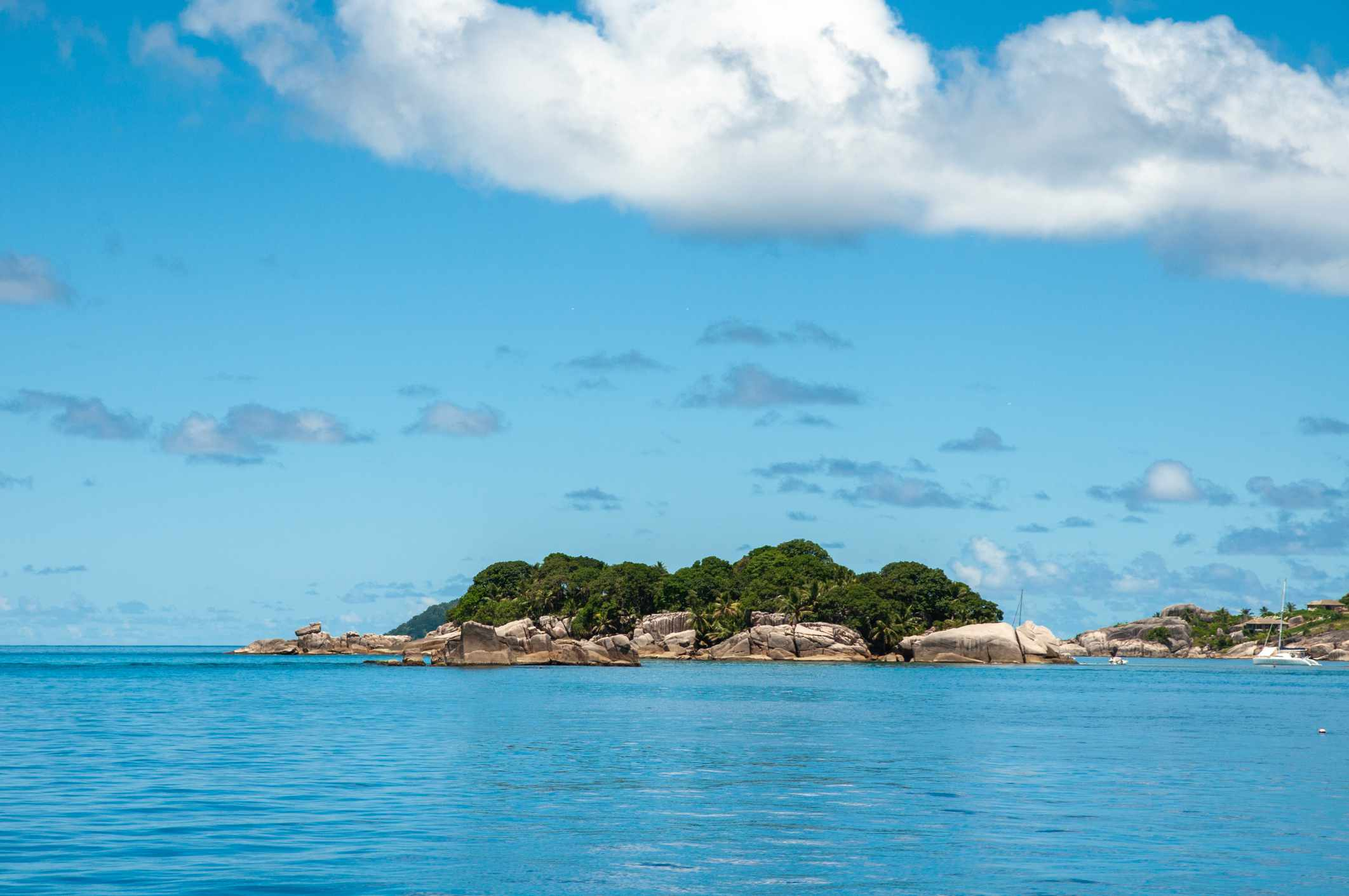 Seaview of the Ile Cocos marine National Park (Cocos Island)