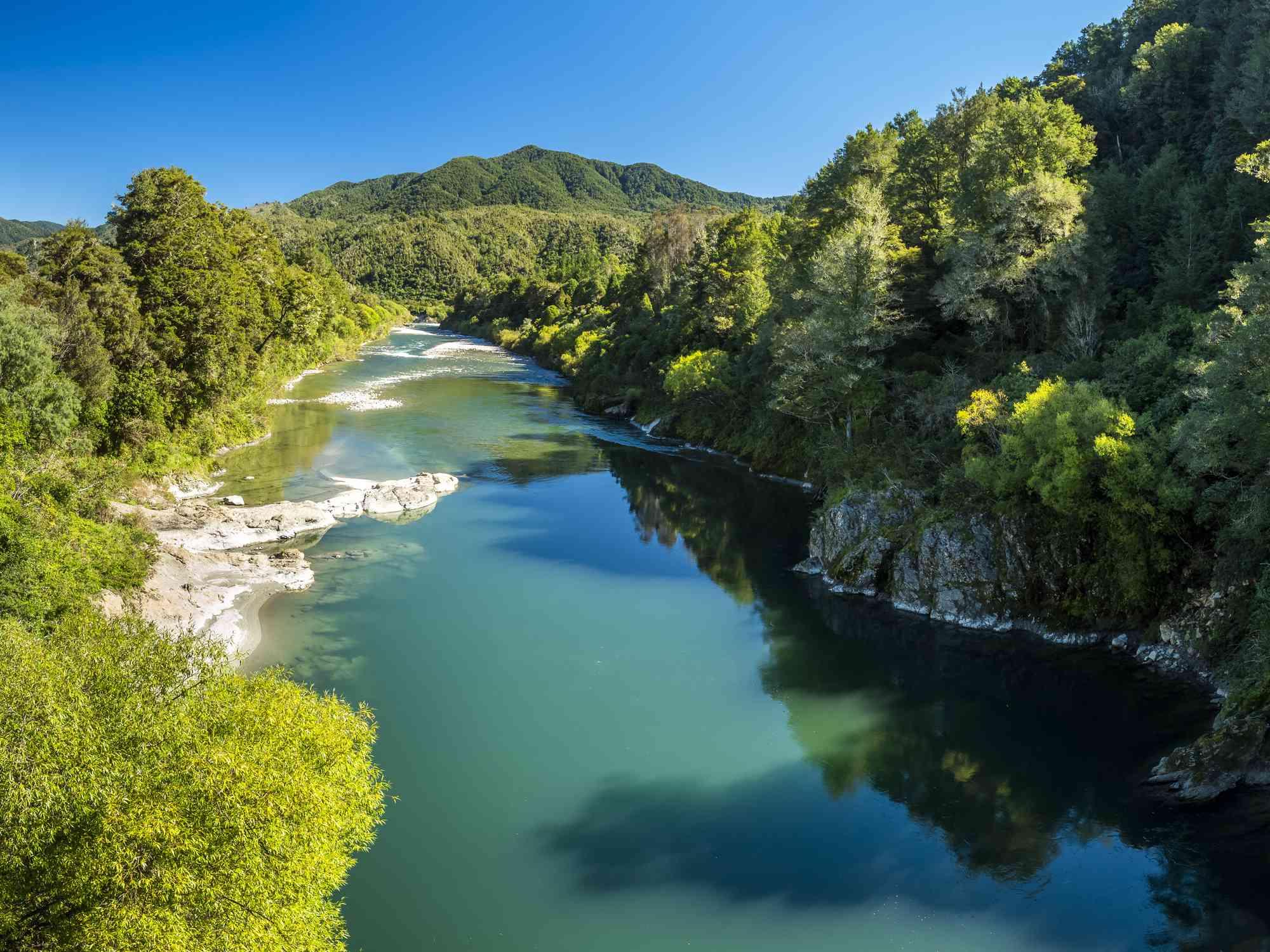 New Zealand, South Island, Buller River, Buller Gorge