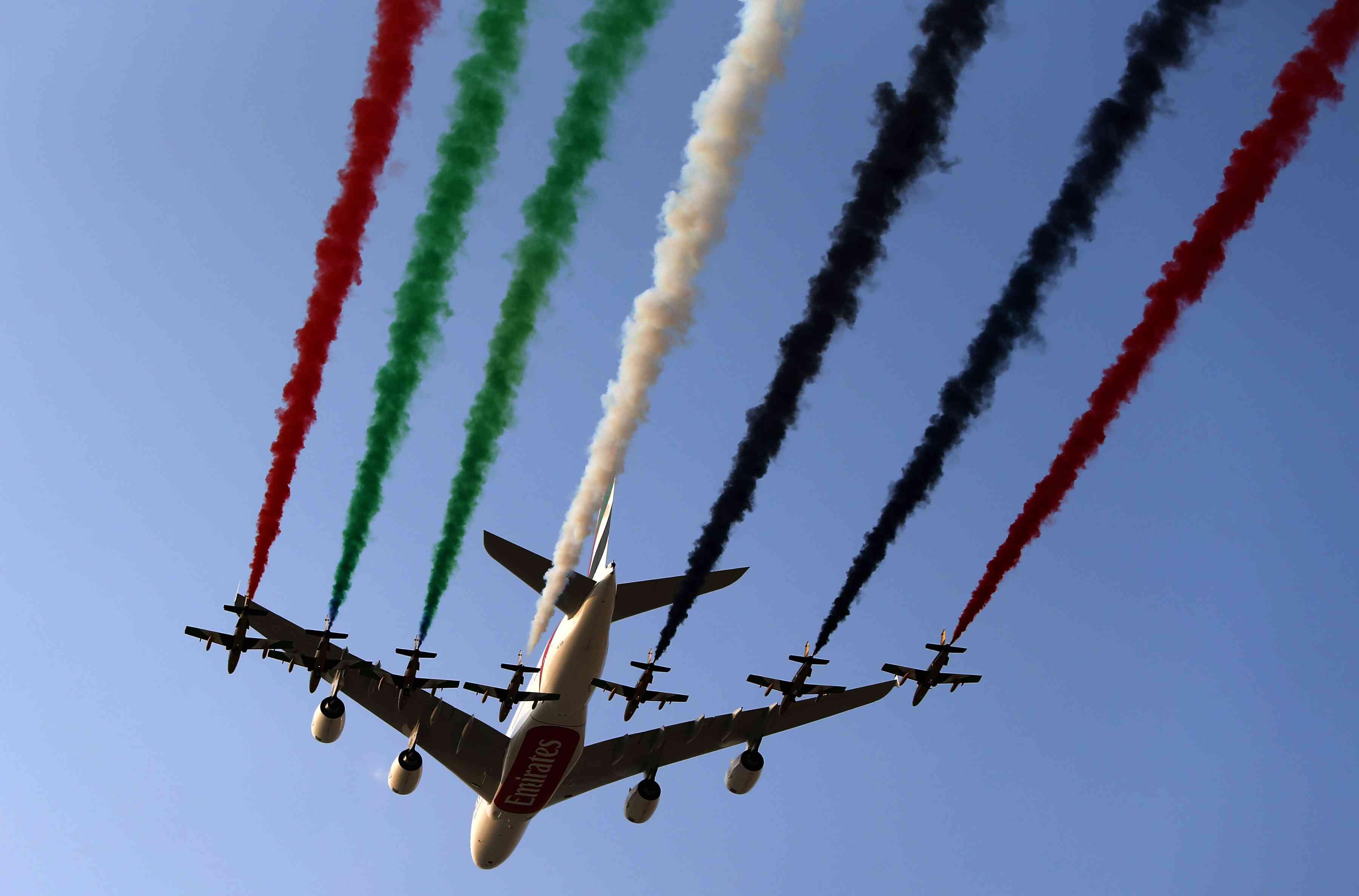 Dubai Airshow with Air Arabia