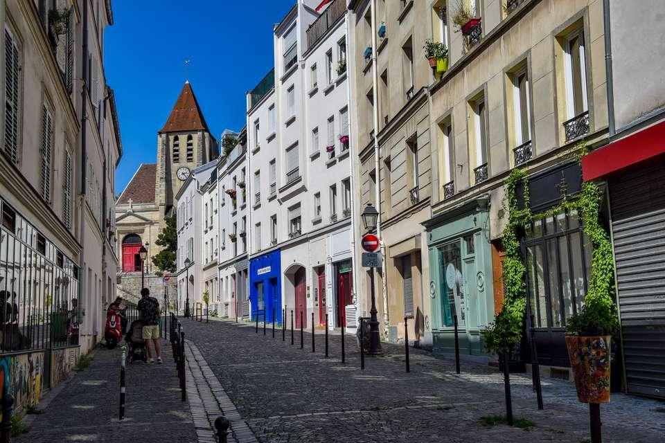 Rue Saint-Blaise in Paris, France