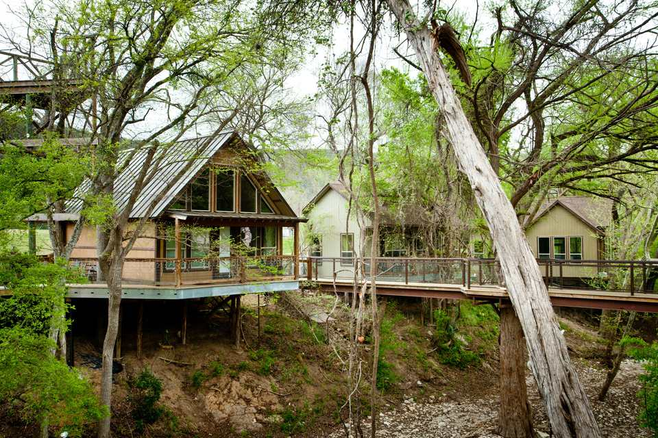 River Road Treehouses in New Braunfels, TX