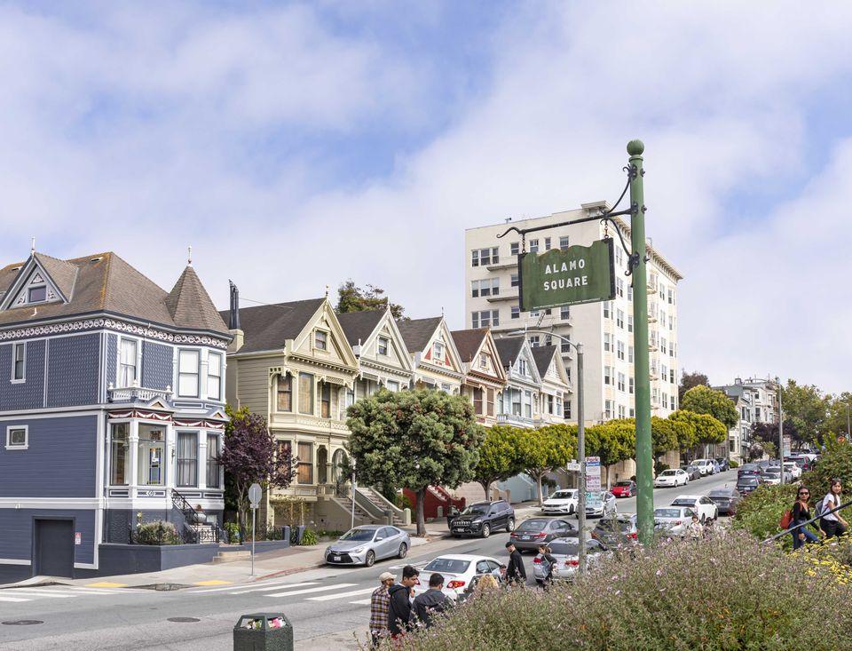 Damas pintadas en San Francisco