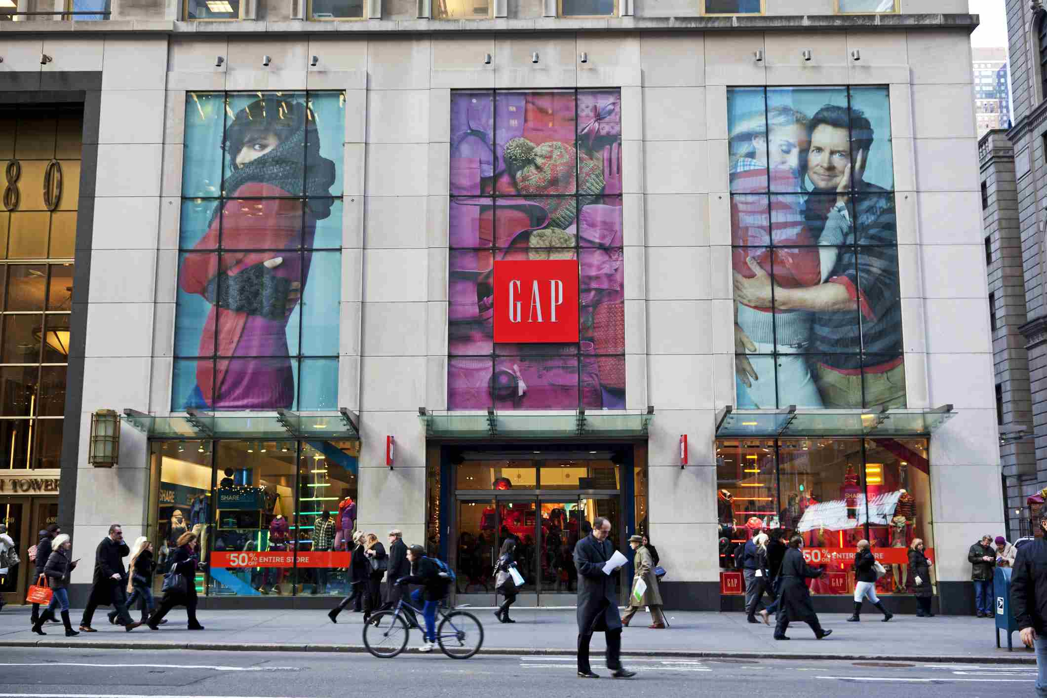 GAP fifth ave