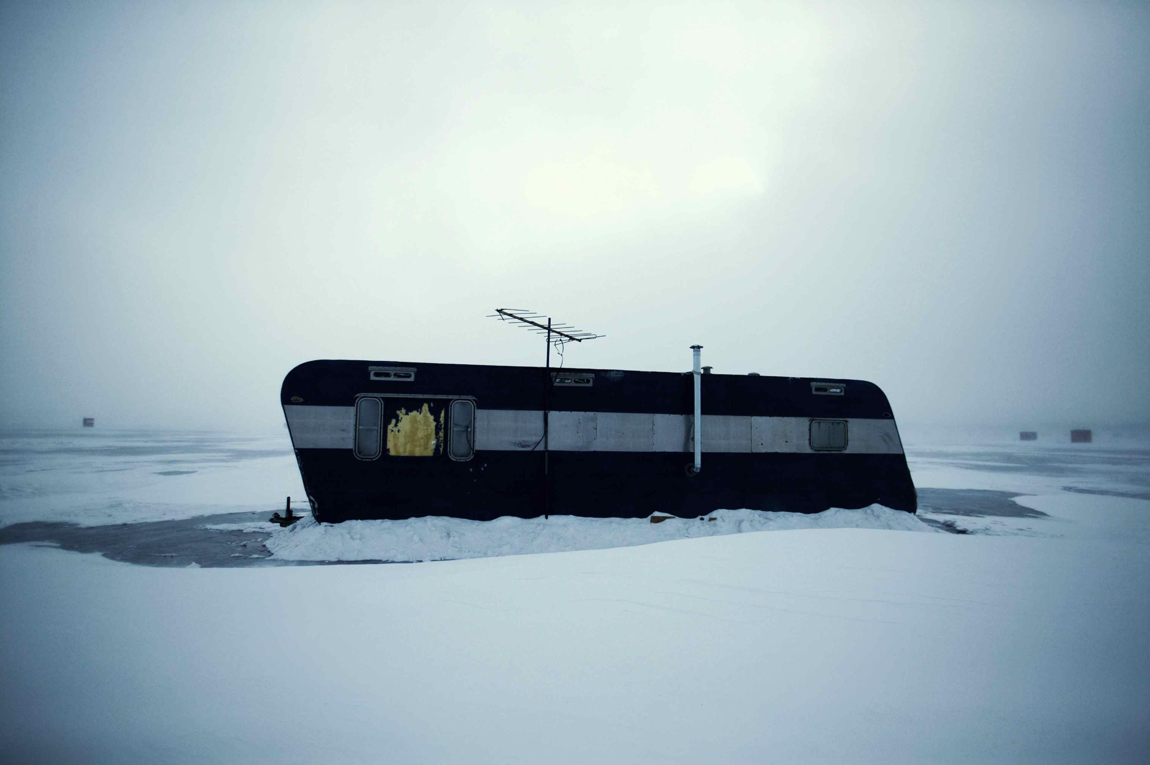 Ice fishing RVs