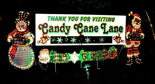 candy cane lane in milwaukee suburb of west allis