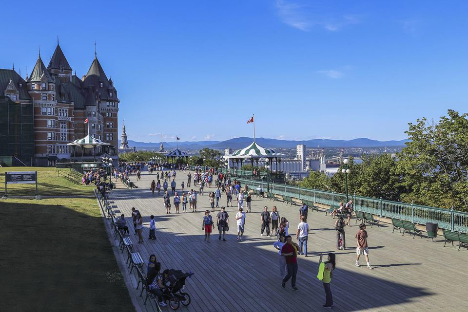 Canada, Quebec City, Chateau Frontenac