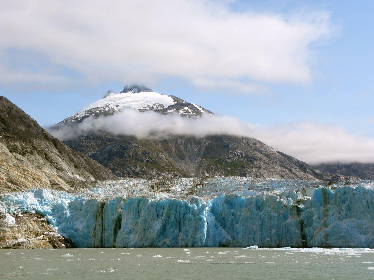 Dawes Glacier in Alaska