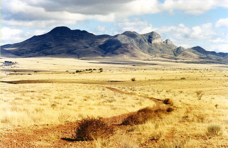 Un pintoresco paisaje cerca de la Patagonia, Arizona