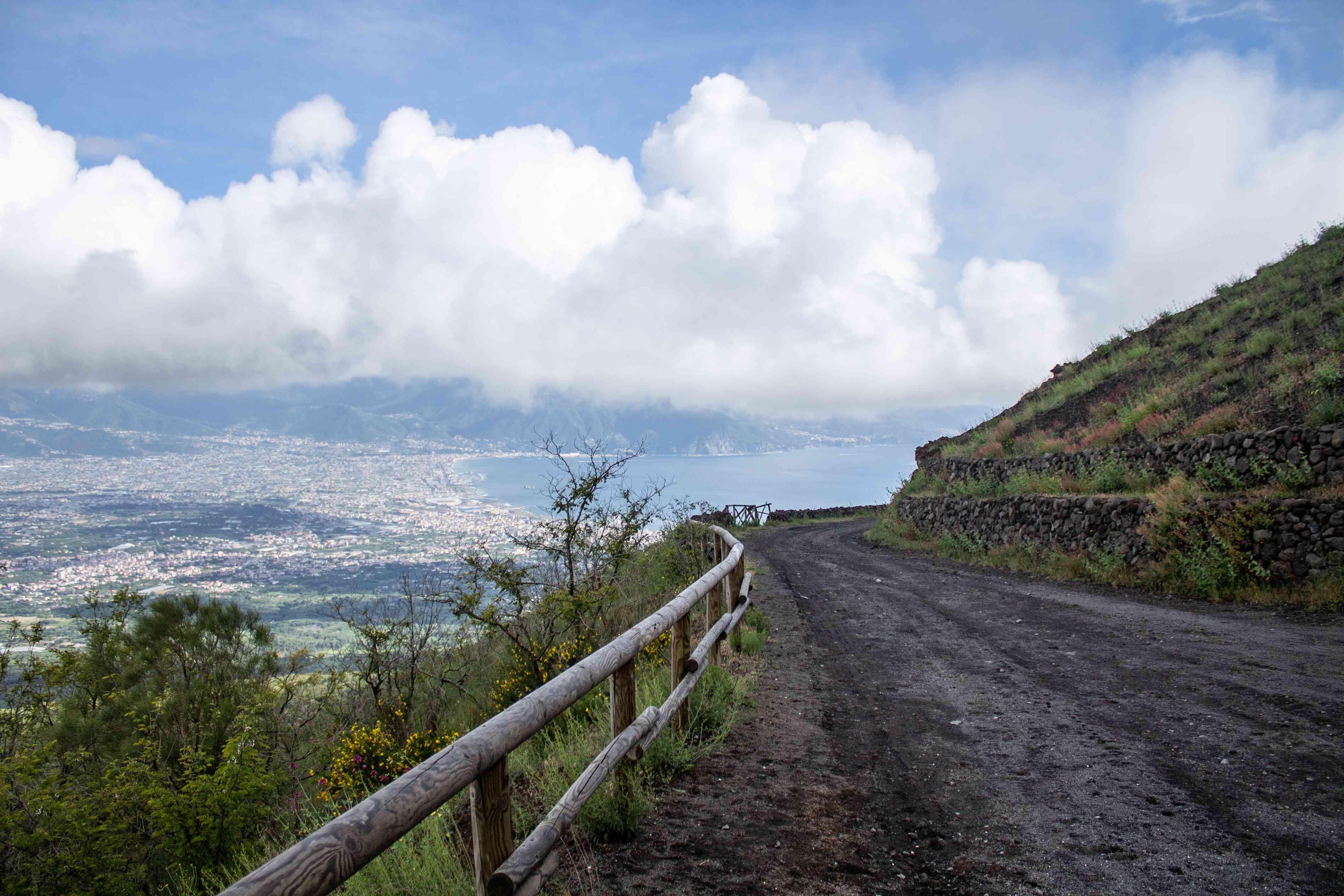 Trail on Mt Vesuvius