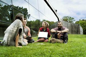 Danish students in Copenhagen.