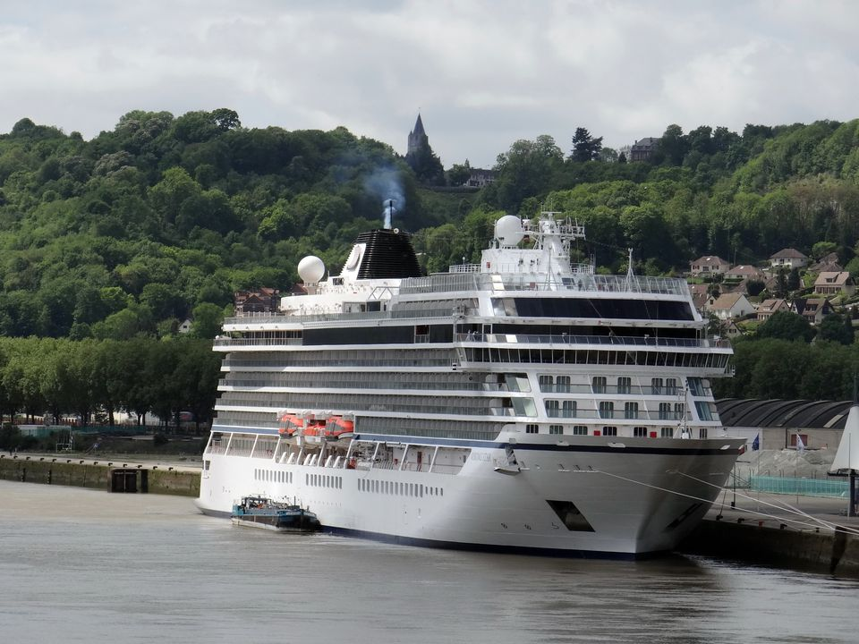 Viking Star in Rouen, France