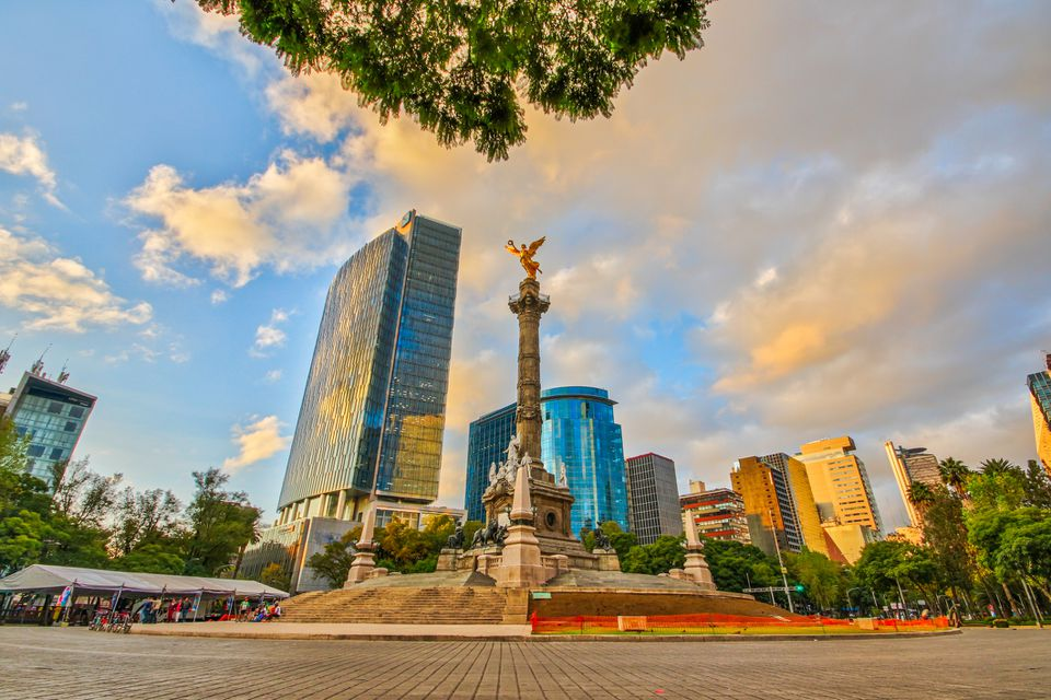 The Angel of Independence - Mexico City, Mexico