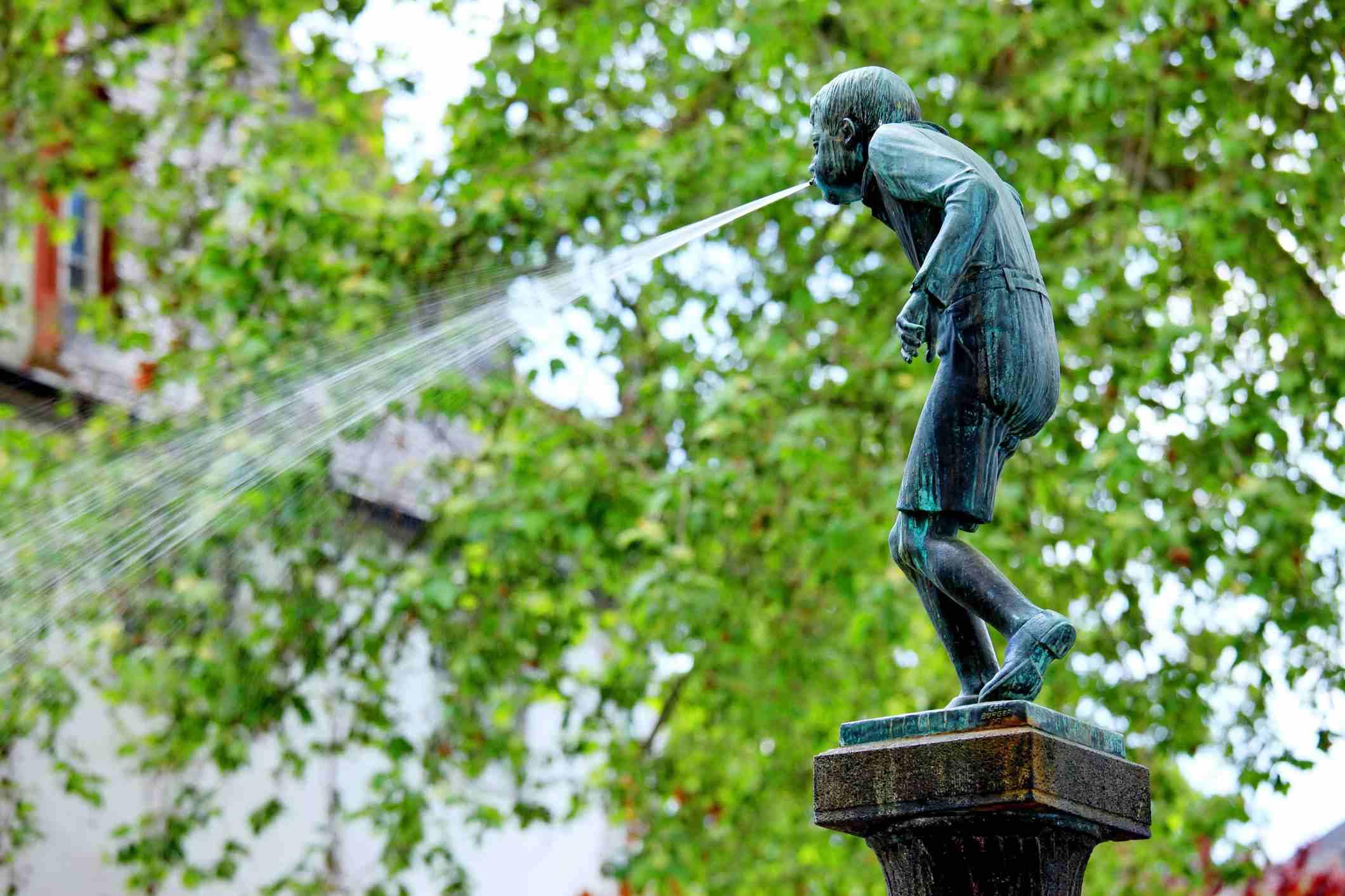 Koblenz Schängel fountain