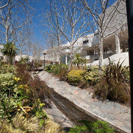 Garden Stream at the Getty Center