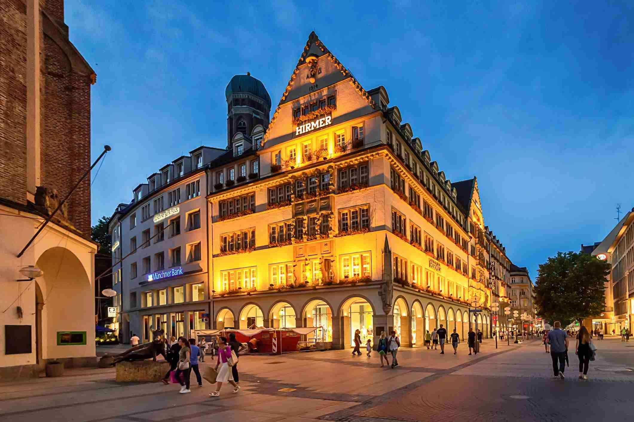 Munich department store