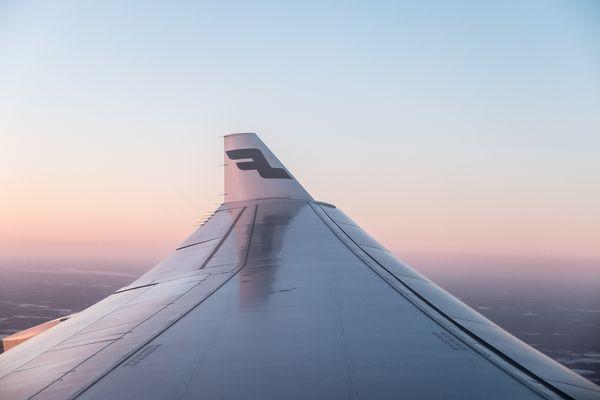 Finnair airplane