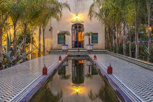 Courtyard in Riad Le Jardin des Biehn