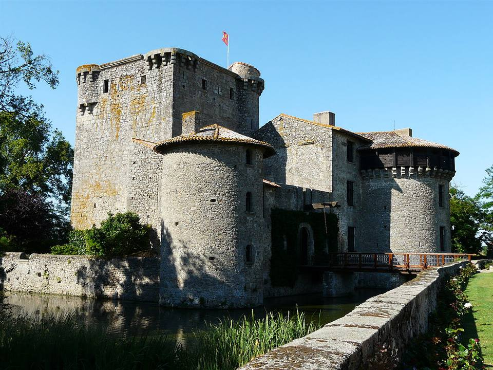 The Chateau de Tennessus in Amailloux, France