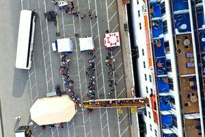 Cruise Ship With 21 Coronavirus Patients On Board Docks In Oakland