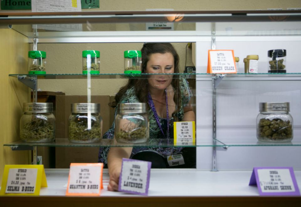 Marijuana dispensary in eastern Oregon
