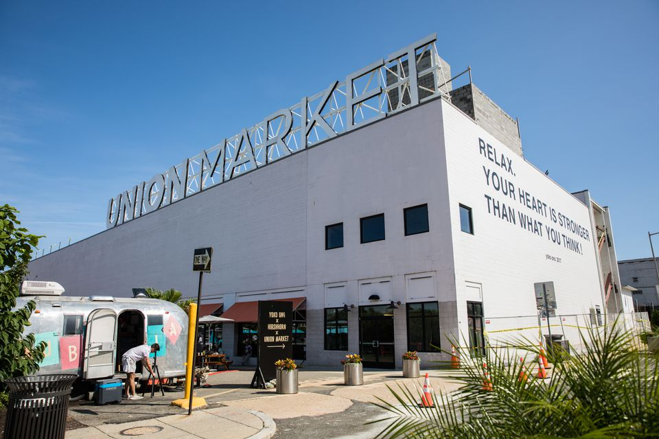 Exterior of Union Market