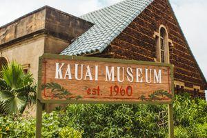 Sign for the Kauai Museum