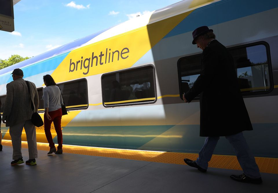 Private High-Speed Rail Service Brightline Announces Its Service To Start Next Week