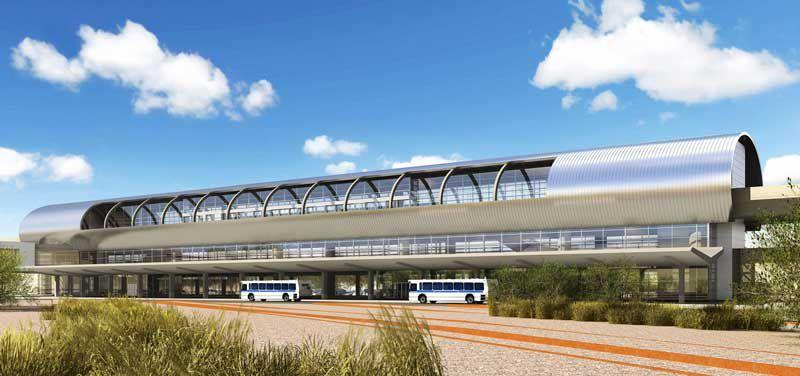Phoenix Airport Sky Train People Mover