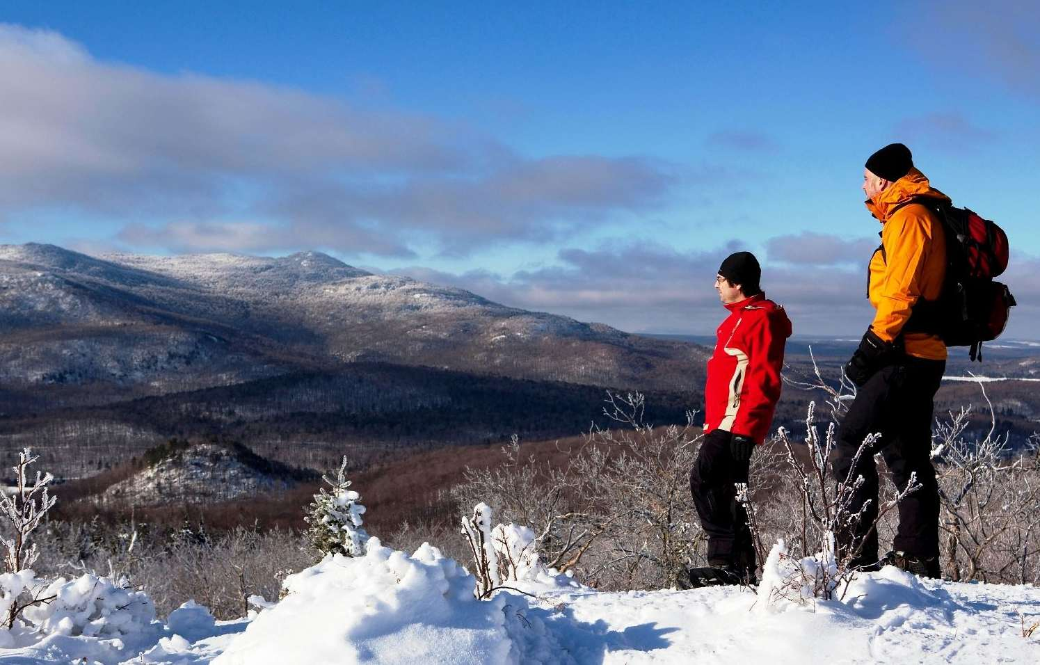 Top winter hikes near Montreal include Mont Orford