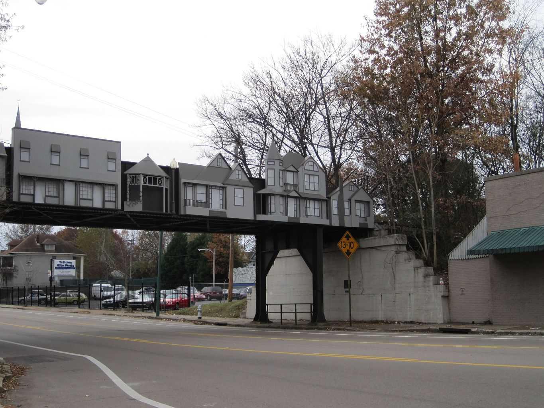 Railroad Bridge in Cooper Young