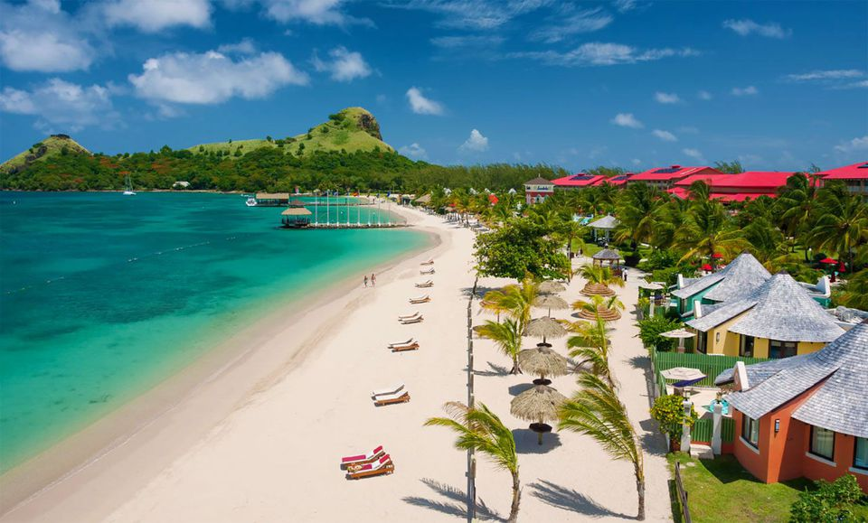 e5a57390b0e427 Staying at Sandals Grande St. Lucian Beach Resort