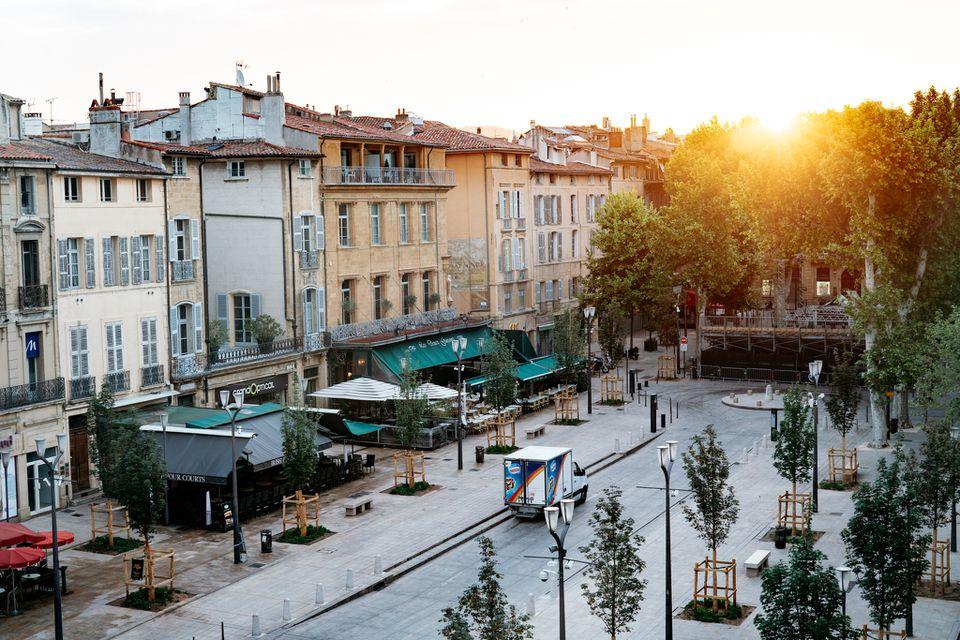 Aix-en-Provence old town
