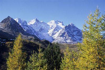 Col de Lautaret pass in the Hautes Alpes (High Alps).