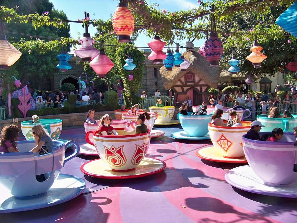 The Mad Tea Party ride