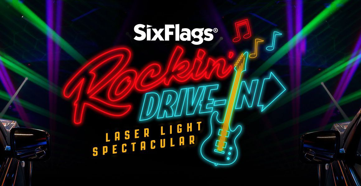 Six Flags Darien Lake Rockin' Drive-In Laser Light Spectacular