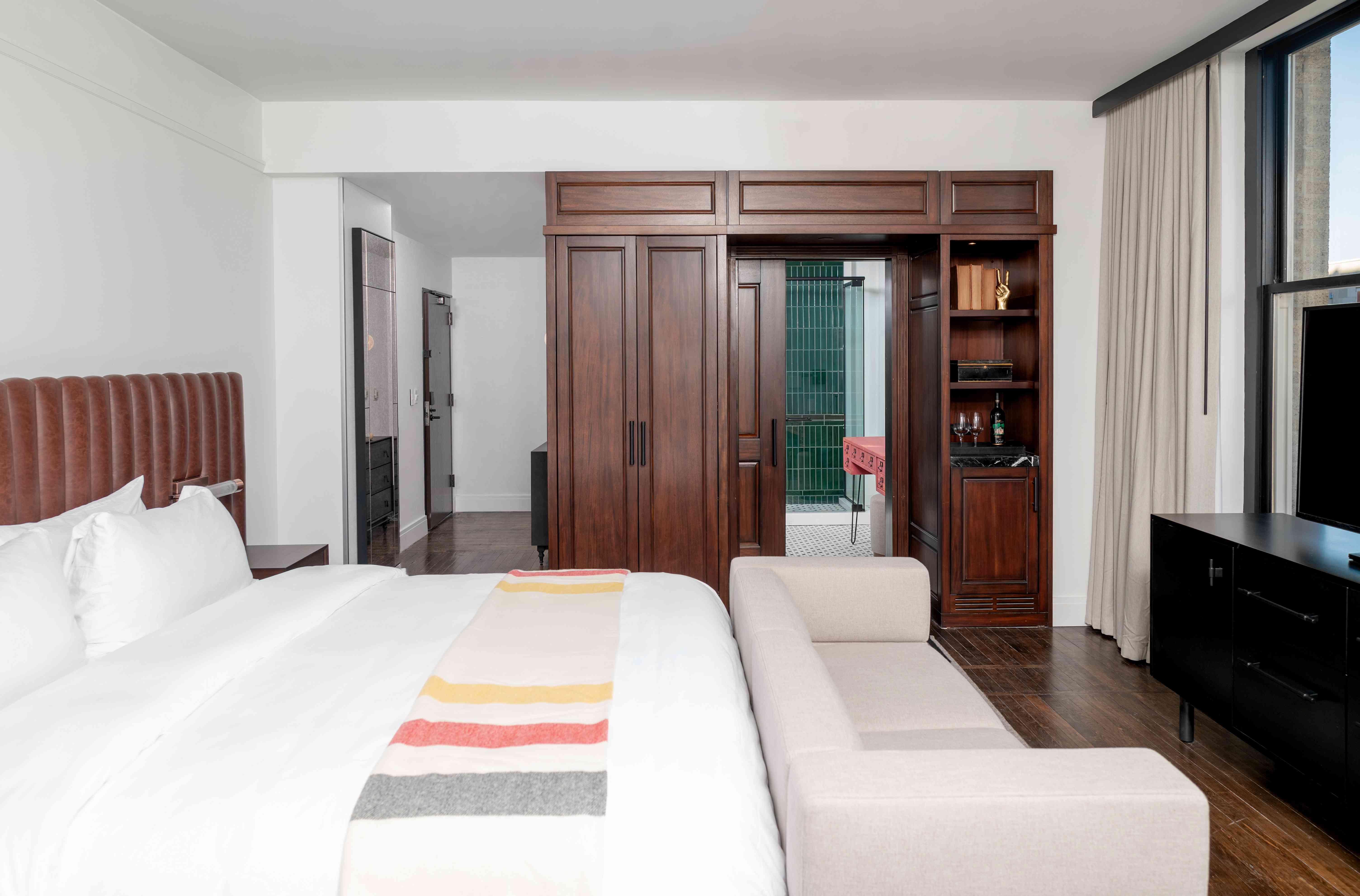 Surety Hotel guest room