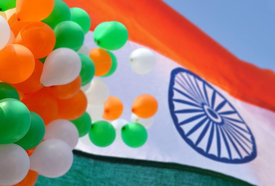 India Republic Day flag.