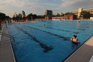 McCarren Park pool in Brooklyn