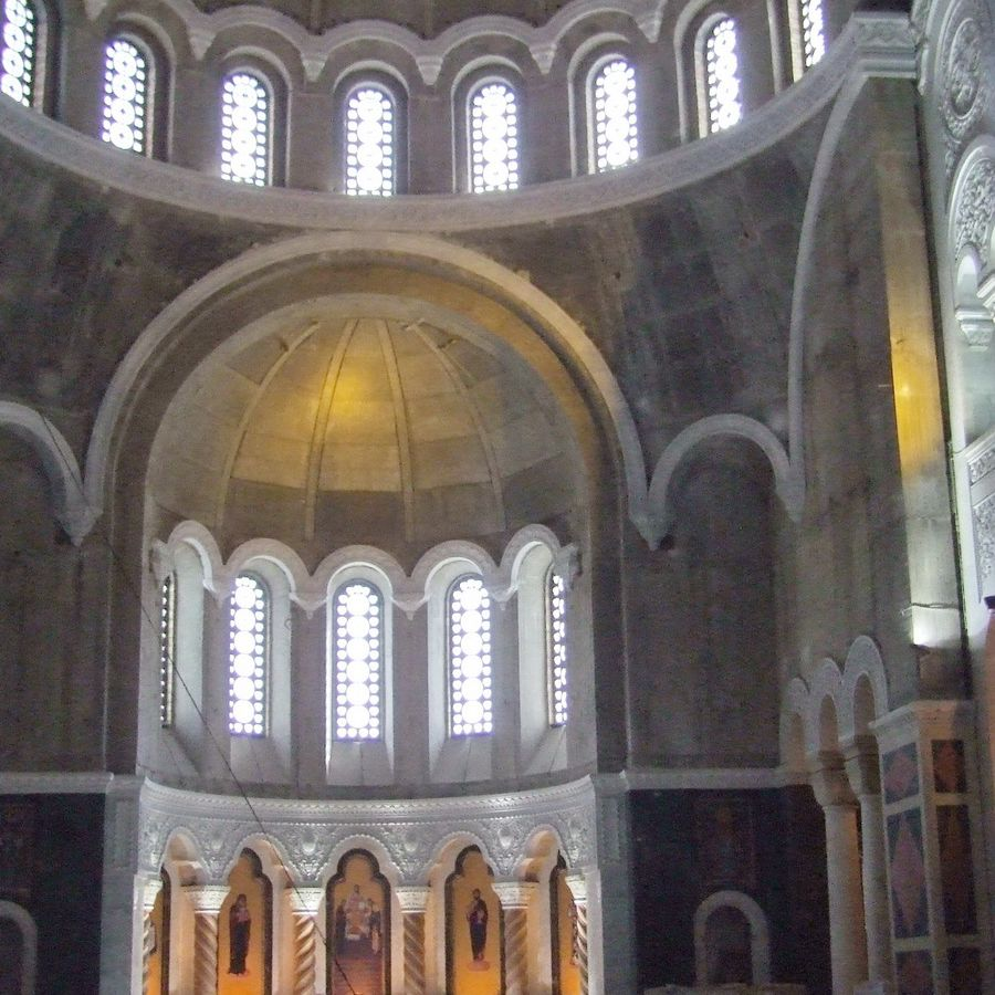 Saint Sava Cathedral in Belgrade