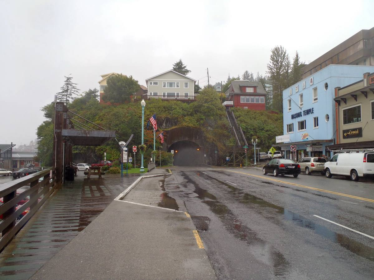 The Tunnel in Ketchikan
