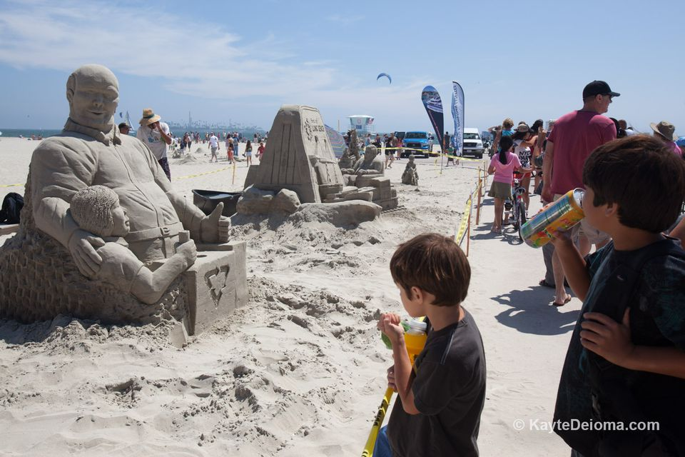 Long Beach Sand Sculpture Competition