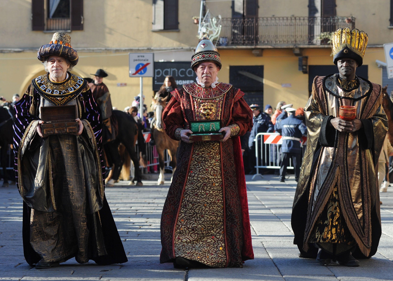 The Epiphany Parade In Milan