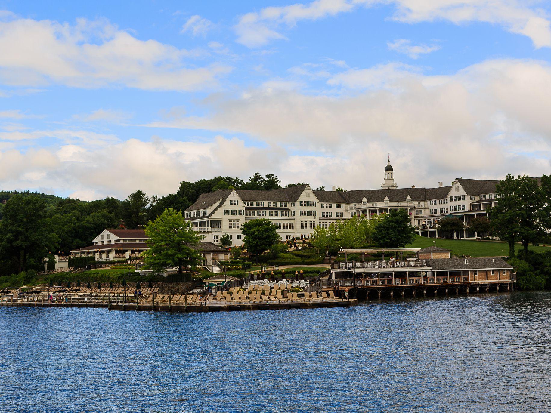 The Historic Hotel Sagamore on Lake George, New York