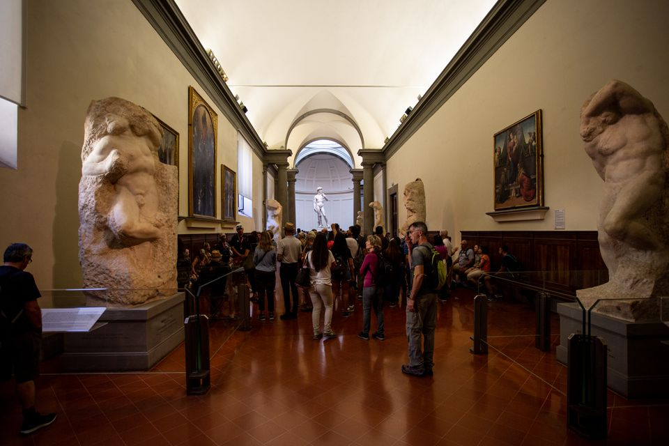 The Accademia, Florence, Italy