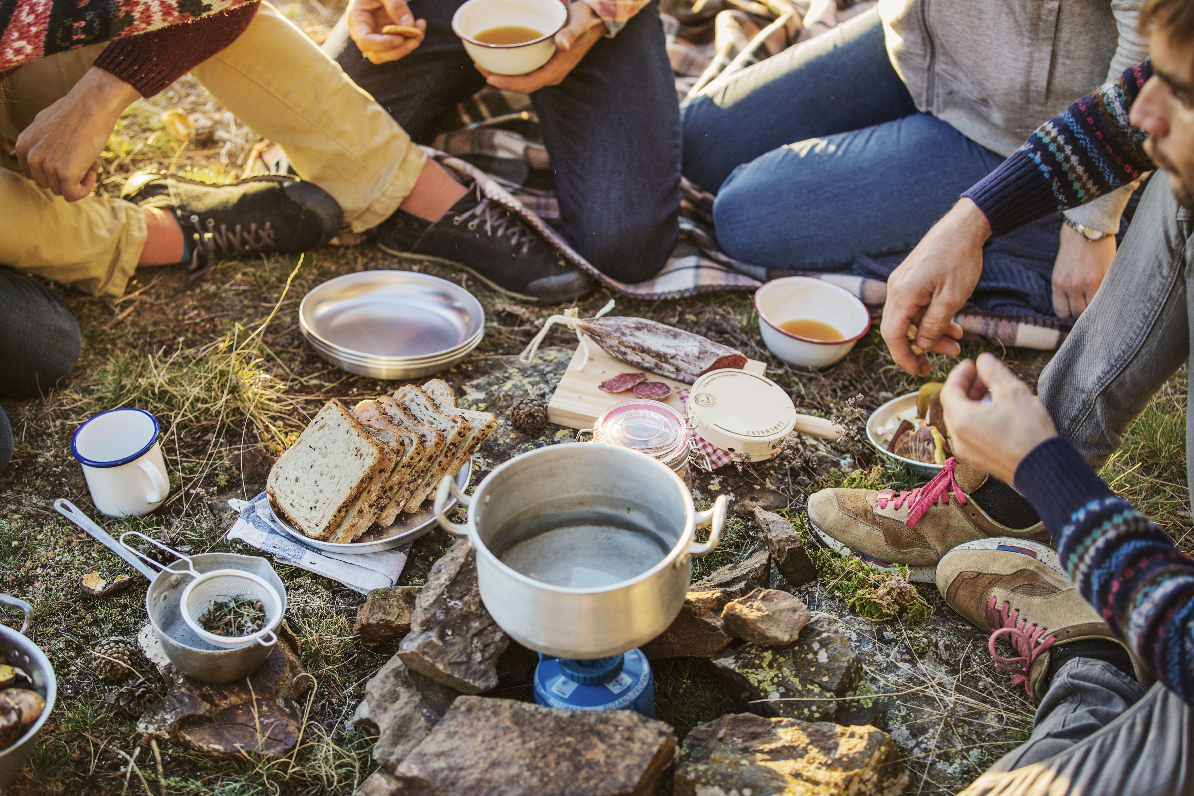Camping Food Essentials Checklist